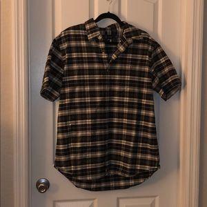 Ralph Lauren XL short sleeve button up shirt